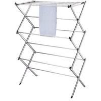 Homebasix BS64-CH-3L Folding Clothes Dryer, Chrome