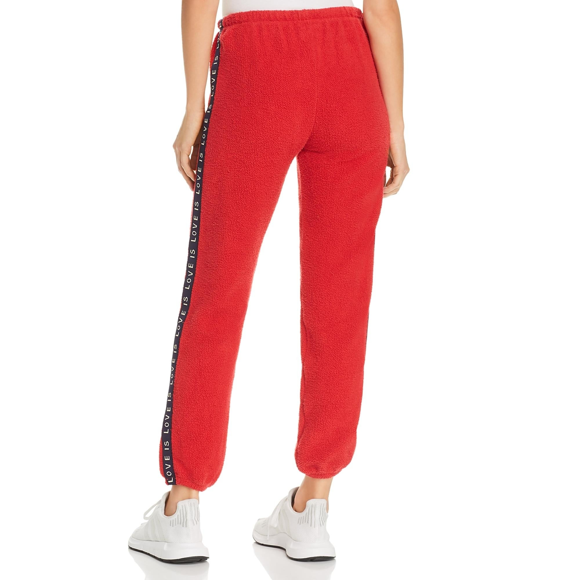 SUNDRY Womens Cozy Stripes Sweatpants