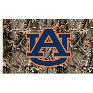 Auburn University Tigers Camo Flag