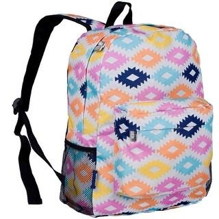 Wildkin Girls Multi Color Aztec Motif Print Backpack 18in.x 12in.x 5in