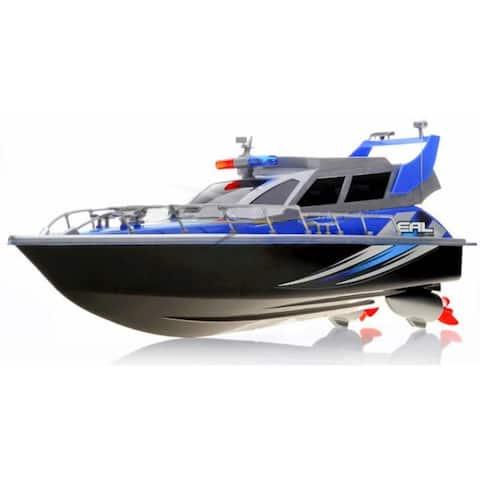 """17"""" Radio Control Patrol Boat (Blue)"""