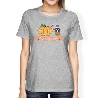 Pumpkin Spice Halloween Costume T-Shirt Couples Matching Outfits