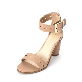 Link to Bar III Womens Breeanne Fabric Open Toe Casual Ankle Strap Sandals Similar Items in Women's Shoes