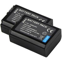 Battery for Sony NPFW50 (2-Pack) Replacement Battery