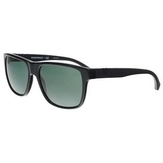 Emporio Armani EA4035 501771 Black Rectangle Sunglasses - 58-17-140