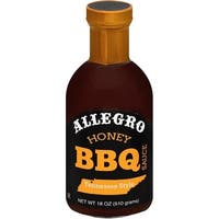 Allegro - Honey Barbecue Sauce ( 6 - 18 oz bottles)