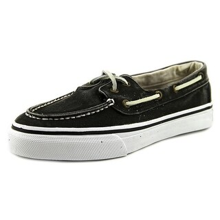 Sperry Top Sider Bahama 2-Eye Moc Toe Canvas Boat Shoe