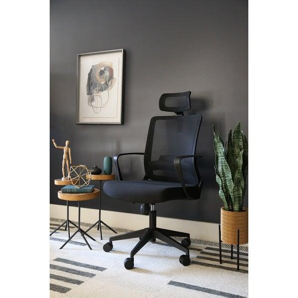Abbyson Sayner Ergonomic Adjustable Mesh Office Chair. Opens flyout.