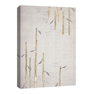 """PTM Images 9-126695  PTM Canvas Collection 8"""" x 10"""" - """"Gold Bamboo"""" Giclee Bamboo Art Print on Canvas"""