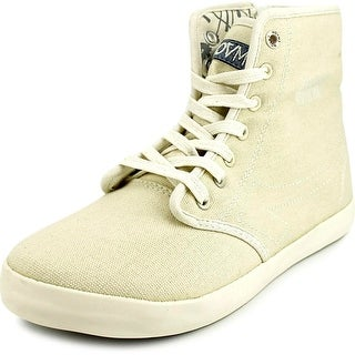 Movmt Marcos Hi Men Canvas Ivory Fashion Sneakers
