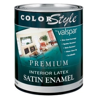 Brand 1 Quart Clear Base ColorStyle Interior Latex Satin Enamel Wal