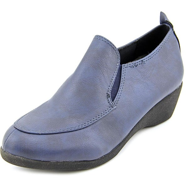 Patrizia By Spring Step Adalie Women  Round Toe Synthetic Blue Loafer