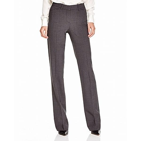 Theory Gray Women's Size 00X35 Bootcut Dress Pants Wool Stretch