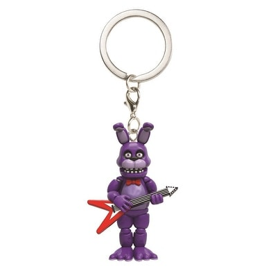 "Five Nights at Freddy's 1.5"" Character Keychain: Bonnie - Multi"