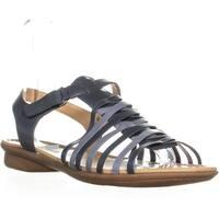 naturalizer Wade Flat Comfort Sandals, Blue Multi
