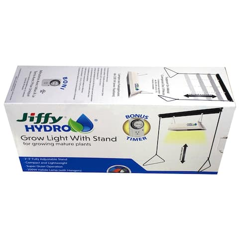 Jiffy JHPROLIGHT-2 Hydro Grow Light with Stand