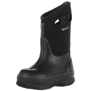 "Bogs Boots Boys Kids 10"" Classic Handles Rubber WP Black 52065|https://ak1.ostkcdn.com/images/products/is/images/direct/d8ddff1edf248fc19fff571b1cf56609637b43d4/Bogs-Boots-Boys-Kids-10%22-Classic-Handles-Rubber-WP-Black-52065.jpg?impolicy=medium"