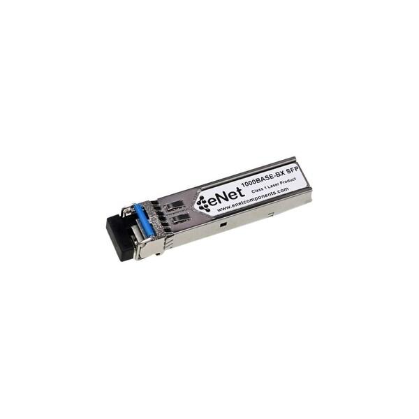 ENET GLC-BX-U-ENC Cisco GLC-BX-U Compatible 1000BASE-BX-U SFP BiDi Tx1310nm/Rx1490nm 20km DOM Simplex LC SMF 100% Tested