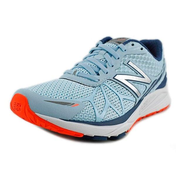 New Balance MPACE Women D Round Toe Synthetic Blue Running Shoe