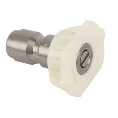 Forney 75156 Quick Connect Wash Nozzle, 4.5 mm, 4000 Psi, White - 4.5 mm