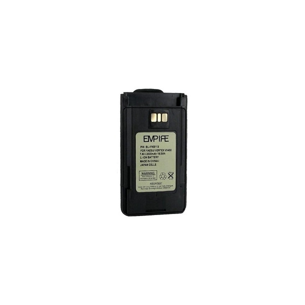 Replacement Battery for Yaesu FNB-V113LI (Single Pack) Replacement Battery