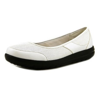 Clarks Jocolin Myla Women W Round Toe Canvas Flats