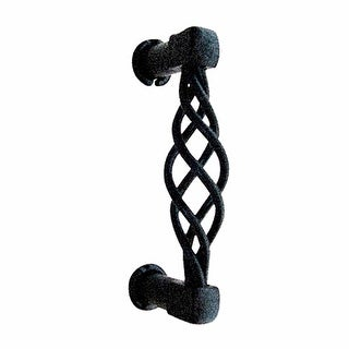 Drawer Pull Cabinet Birdcage Black Wrought Iron 3 1/2   Renovator's Supply