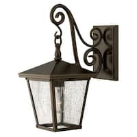 """Hinkley Lighting 1430-LED 15.25"""" Height LED Outdoor Lantern Wall Sconce from the Trellis Collection - Regency Bronze - N/A"""