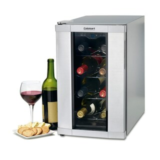 Cuisinart CWC-800 8-Bottle Private Reserve Wine Cellar, Stainless Finish