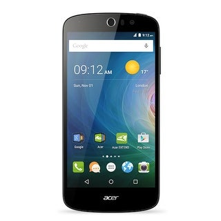 Acer Jade Liquid Z530 Unlocked GSM 4G LTE Quad-Core Android Phone w/ 8MP Camera - Black