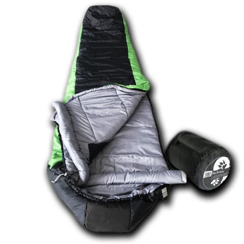 Wolftraders LoneWolf 20 Degree Fahrenheit Premium Ripstop Mummy Sleeping Bag with Xfil