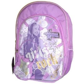 Disney Hannah Montana Girls Rock School Backpack