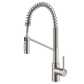 Kraus KPF-2631 Oletto 1-Handle 2-Function Sprayhead Commercial Pull Down Kitchen Faucet