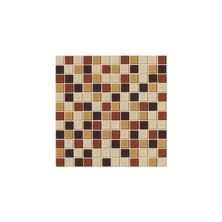 """Daltile IS11MSP Illustrations - 1"""" x 1"""" Square Mosaic Multi-Surface Tile - Smooth Glass Visual - N/A"""