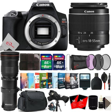 Canon EOS Rebel SL3 DSLR Camera with 18-55mm + Essential kit