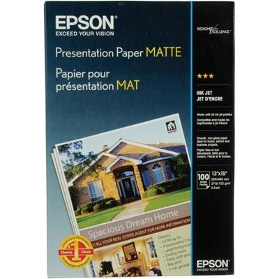 Epson S041069 Photo-Quality Inkjet Paper (13X19, 100 Sheets)