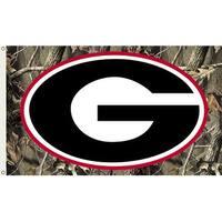 University of Georgia Bulldogs Camo Flag