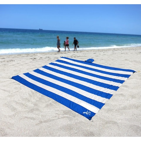 Just Relax Parachute Nylon Multipurpose Travel Sheet, 7x7 Feet