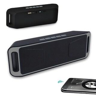 Indigi® Waterproof Bluetooth Speakers - Outdoor & Sport Stereo Bluetooth Wireless (Grey)