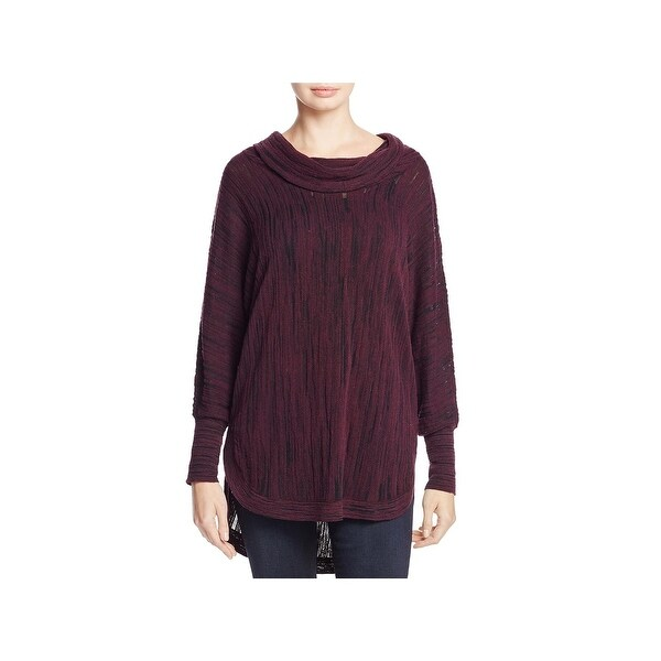 Nic + Zoe Womens Pullover Sweater Knit Burnout