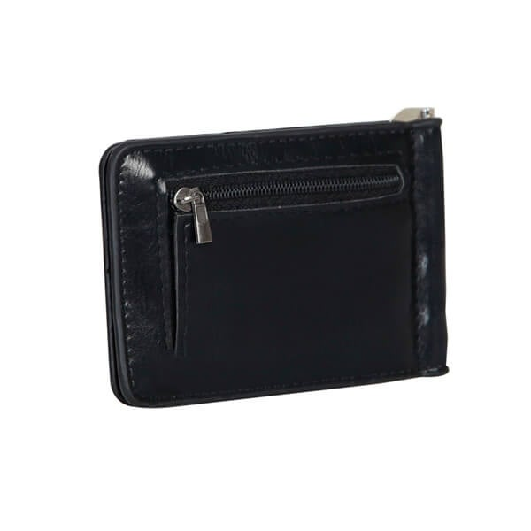 Mad Style Black Leather Money Clip