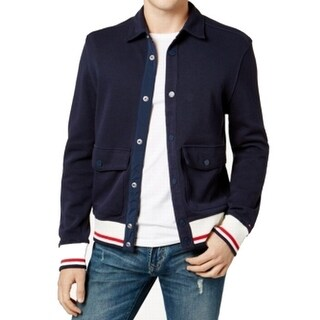 Tommy Hilfiger Men's Button-Front Knit Sweater