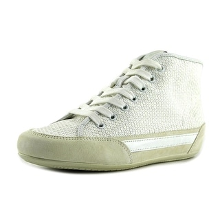 Hogan H207 Polacco Women Round Toe Leather White Sneakers