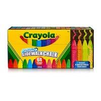 Crayola Wash Sidewalk Chalk 64Pk
