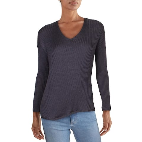 Eileen Fisher Womens Sweater RIbbed V-Neck