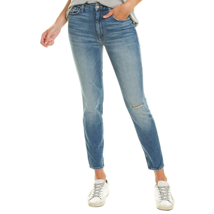 Mother Looker Popism High-Rise Ankle Skinny Leg