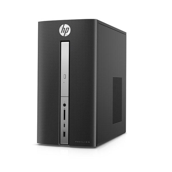 Refurbished - HP Pavilion 570-P050 Desktop Intel Core i5-7400 3.0GHz 8GB 1TB + 16GB SSD Win10
