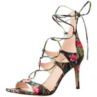 Marc Fisher Womens Ballad Open Toe Casual Strappy Sandals