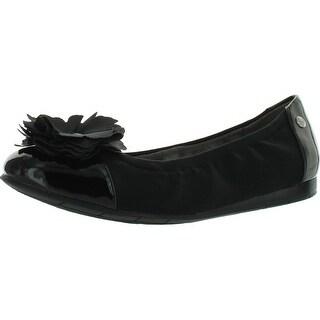 Lifestride Womens Niobe Ballet Flat Shoes - Black - 6.5 b(m) us