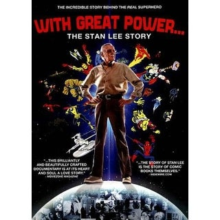 With Great Power: The Stan Lee Story - DVD